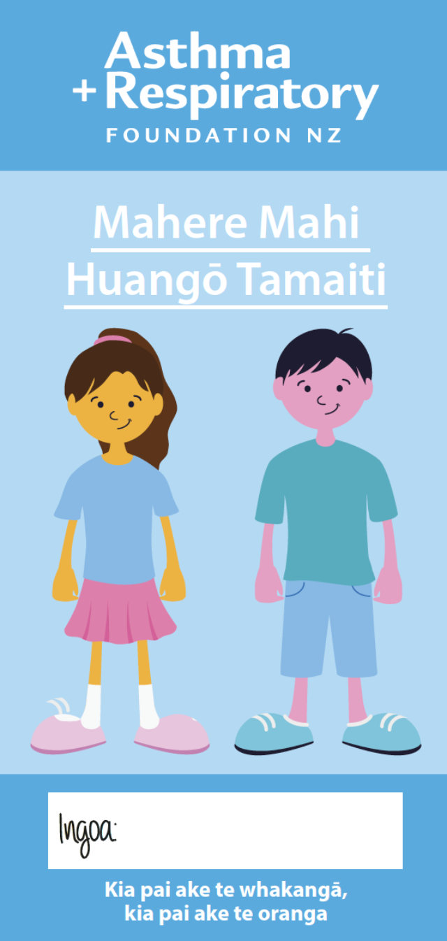Child Asthma Action Plan Maori